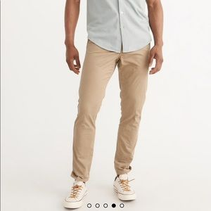 Abercrombie mens chinos